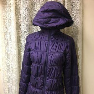 Purple Columbia Puffer Jacket